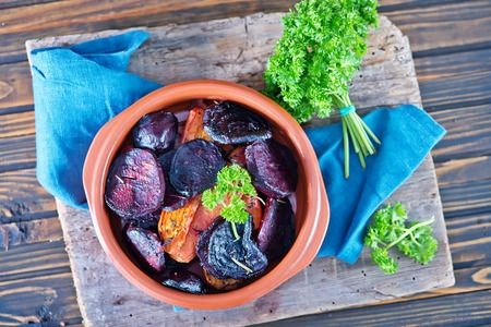 Maple Glazed Beets and Carrots