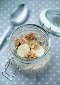 Banana Cinnamon Overnight Oats