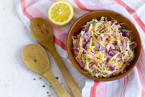 Greek Yogurt Slaw