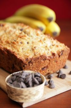 Flour-less Banana Bread