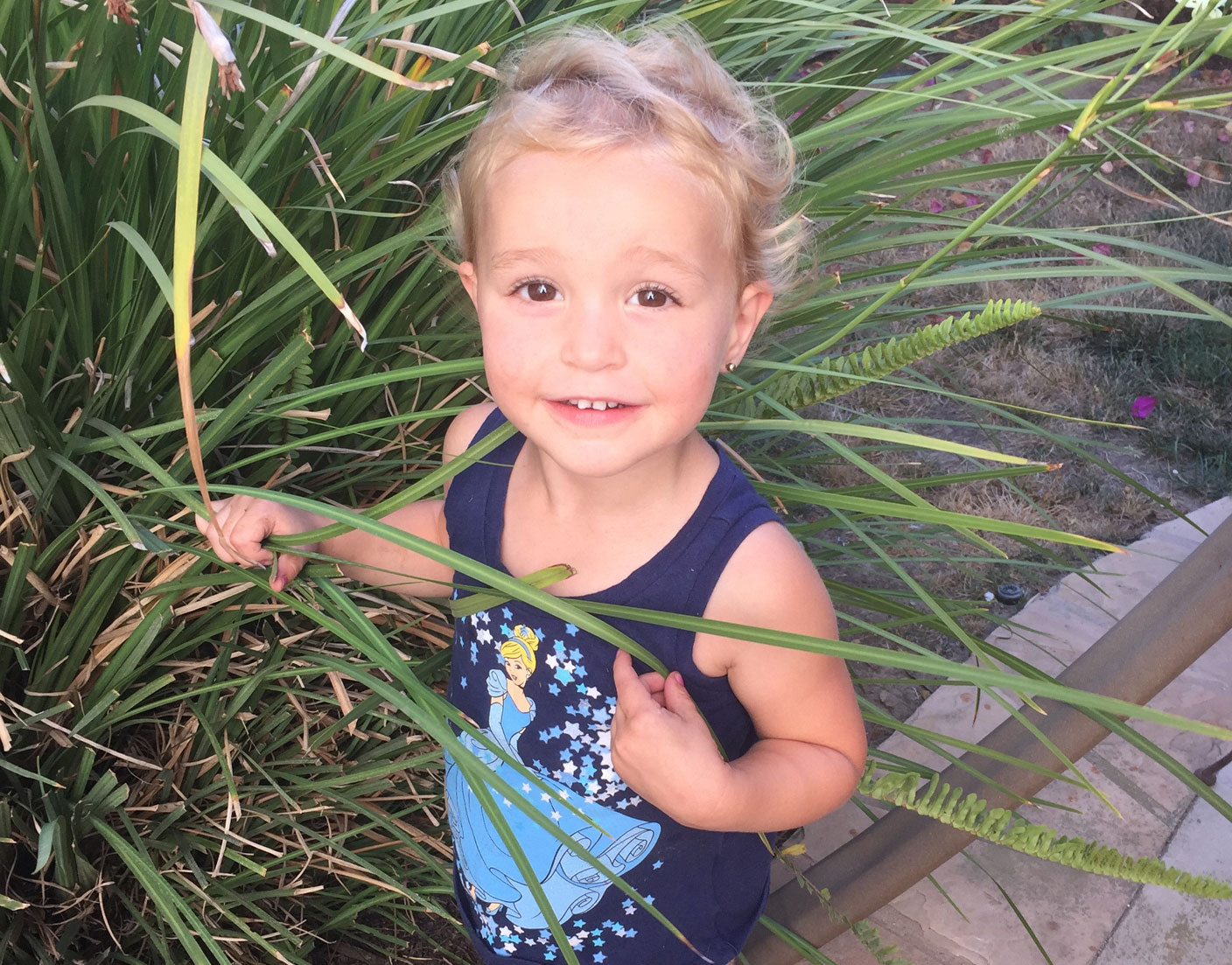 Child With Pampas Grass 4 2017