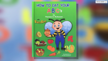 How to Eat Your ABC's Book Trailer